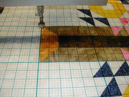 The Piece O'Grid - a long-arm and short-arm machine quilting tool